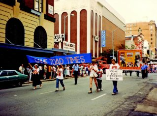 Cane Toad Times, Street March, early 1980's