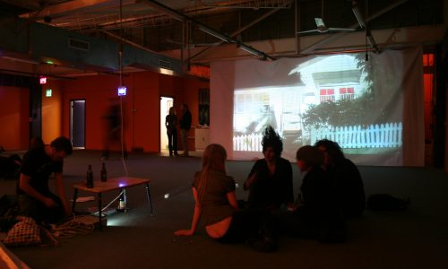 ARTIST REFLECTION MEMOIR 2 : Space Odyssey 2009, Installation view, MacLachlan St, Fortitude Valley.