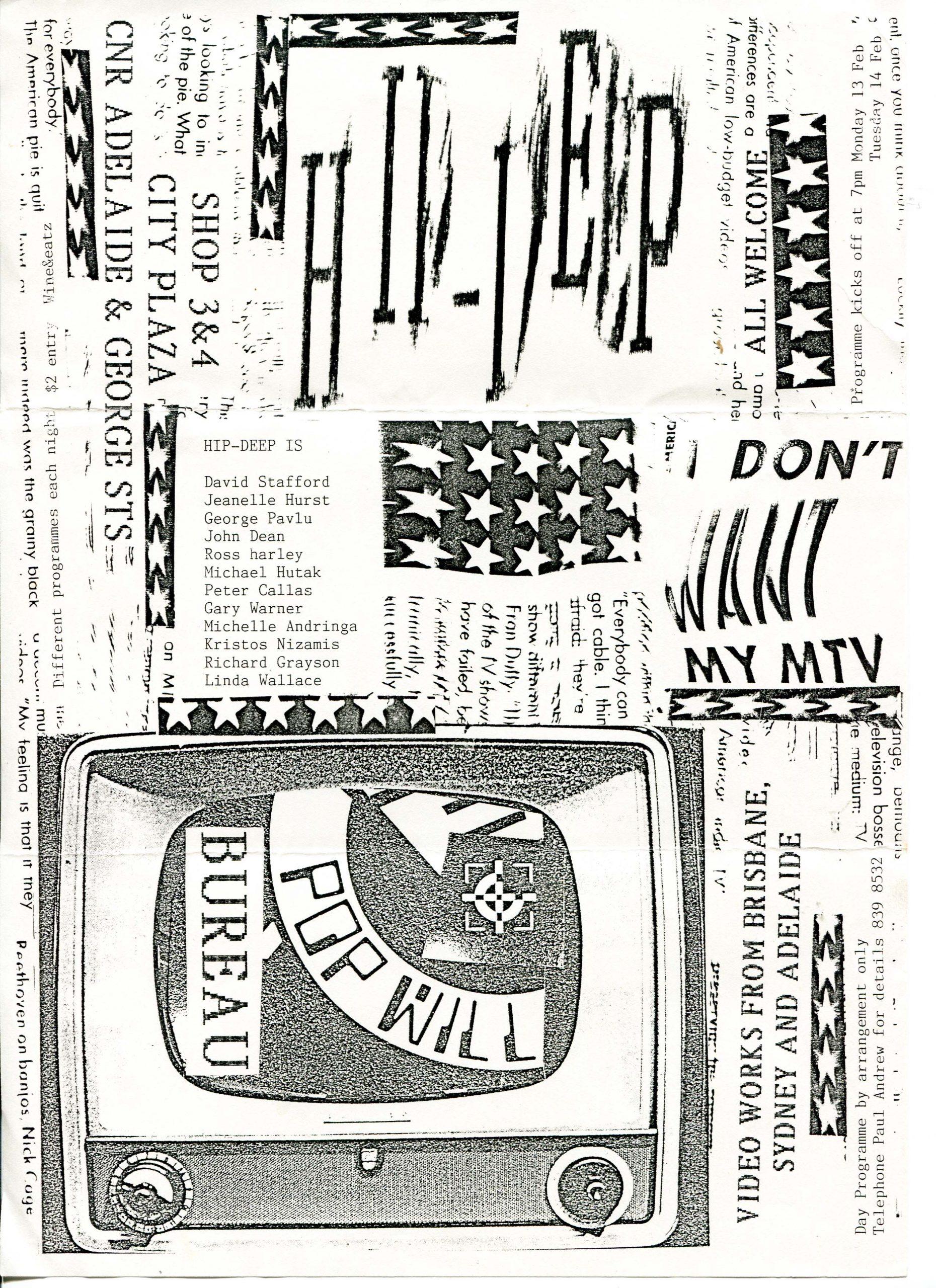 Bureau - Hip Deep curated by Gary Warner & Paul Andrew