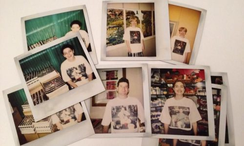 """Hiram To; """"A batch of Polaroids from early 1994, working images for my show at Camden Arts Centre in London, with Alice-Ann, Sarah Follent, Brian Doherty, Lucinda Elliott and others"""""""