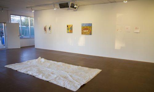 Artist Madeline Bishop -  Belly - exhibition - WatchThisSpace - 2017