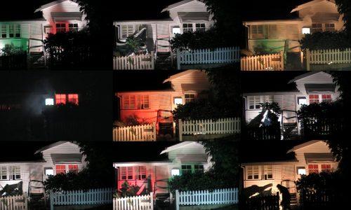 ARTIST REFLECTION MEMOIR 1 : Space Odyssey 2009, 9 Video Stills from video performance by AASS