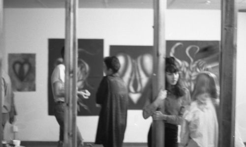 Artist Angelina Martinez- Works on Paper, Bureau Art Space, February 1989
