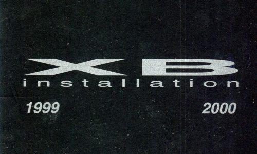XB Installation 1999-2000, The Butterfactory Artist-Run Studios, Dayboro