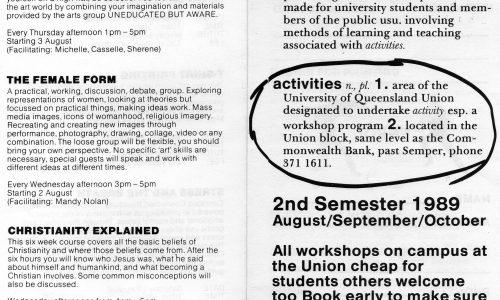 UQ activities
