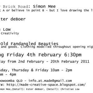 Exhibition One Invite Back
