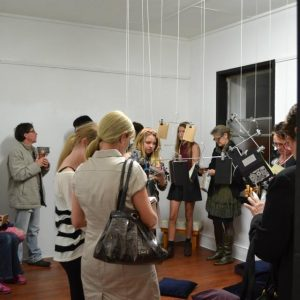 Project Art Journal exhibition opening