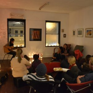 Sound Lounge acoustic music session with Kerry Overbeek small